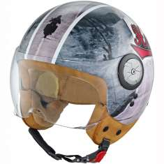Held Helmet McCorry Gloss Road 7261 - Grey