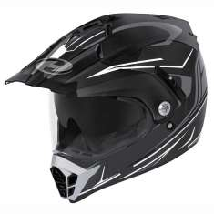 Held 7265 Alcatar Helmet - Black White