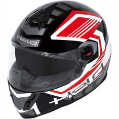 Held Helmet Scard 7421 Children Ladies - Black Red
