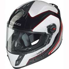 Held 7421 Scard Helmet Ladies Child Black White Red - Carbon