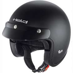 Held Helmet Black Bob 7540 - Matt Black
