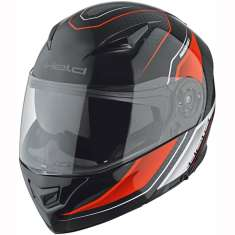 Held 7824 Travel Champ II Helmet - Black Red