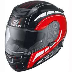 Held 7841 Brave II Helmet - Black Red White