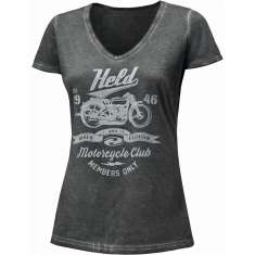 Held 9680 Held Motorcycle T Shirt Ladies - Grey