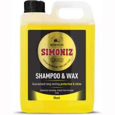 Simoniz Shampoo And Wax Car Motorcycle Van - 2 Litres