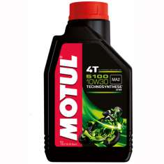 Motul Semi-Synthetic 5100 10W30 4T Oil - Black