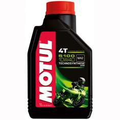 Motul Semi-Synthetic 5100 10W40 4T Oil - Black