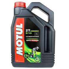 Motul Semi-Synthetic 510 2T Off Road Oil - Black