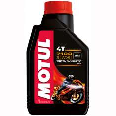 Motul Fully Synthetic 7100 10W30 4T Oil - Black