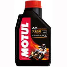 Motul Fully Synthetic 7100 10W60 4T Oil - Black