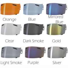 Arai TX BV Pinlock Ready Visor - All Colours