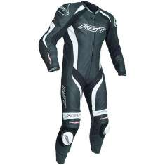 RST Tractech Evo III Leather Suit 2041 CE 1 PC - Black White