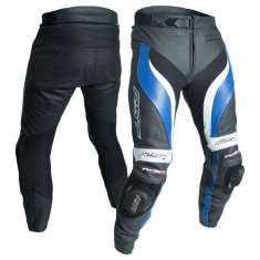 RST Tractech Evo III Leather Trousers 2052 CE - Black Blue