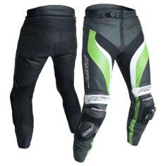 RST Tractech Evo III Leather Trousers 2052 CE - Black Green