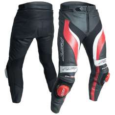 RST Tractech Evo III Leather Trousers 2052 CE - Black Red
