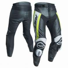 RST Tractech Evo R Leather Trousers 2053 CE - Black Yellow