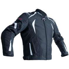 RST R-18 Jacket 2071 CE WP - Black White