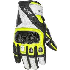 RST Stunt III Gloves 2123 CE - Black Yellow White