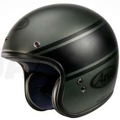 Arai Freeway Classic Bandage Helmet - Green Black