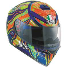 AGV K-3 SV Five Continents Helmet - Graphic   Blue