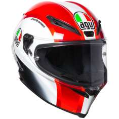 AGV Corsa-R Sic58 Helmet - Red White Black