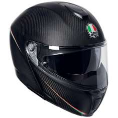 AGV Sports Modular Tricolore Helmet - Carbon Red Green