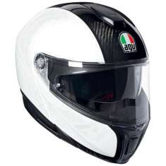 AGV Sports Modular Mono Helmet - White Carbon