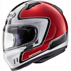 Arai Renegade V Outline Helmet - Red White Black