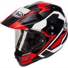 Arai Tour-X 4 Catch Helmet - Red Black White