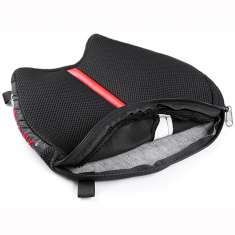 Airhawk Seat Cushion Cruiser R Small Red Stripe - Black Red