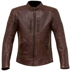 Merlin Draycott Leather Jacket - Oxblood