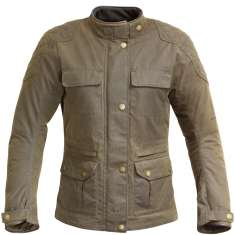 Merlin Buxton Jacket Wax Cotton Ladies WP - Brown