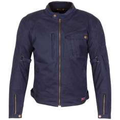 Merlin Elmhurst Wax Jacket WP - Navy