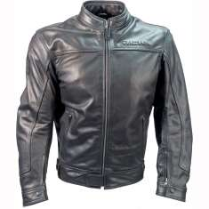 Richa Café Leather Jacket - Black