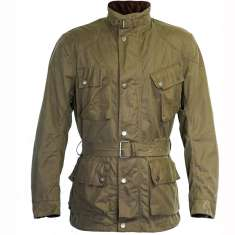 Richa Bonneville Wax Jacket WP - Khaki