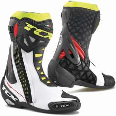 TCX RT-Race Boots - White Black Yellow