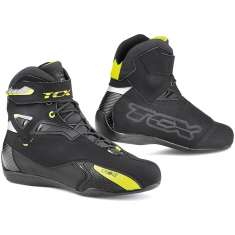 TCX Rush Boots WP - Black Yellow