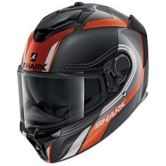 Shark Spartan GT Tracker Helmet DAW - Carbon Orange