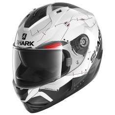 Shark Ridill 1.2 Mecca WKR Helmet - White Black Red