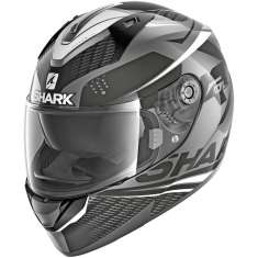 Shark Ridill Stratom AKW Helmet - Anthracite Black White