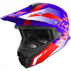 Shark Varial Anger Helmet BWR - Blue Red White