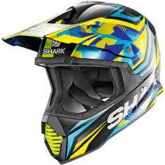 Shark Varial Tixier KBY Helmet - Blue Yellow Black