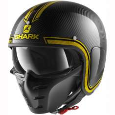 Shark S-Drak Vinta Helmet DUQ - Carbon Yellow
