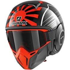 Shark Street Drak Zarco Malaysian GP KOA Helmet - Black Orange Anthracite
