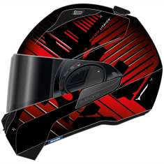 Shark Evo-One 2 Lithion Dual Helmet KUR - Matt Black Red