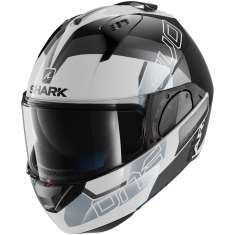 Shark Evo-One 2 Slasher Helmet WKS - White Black Grey