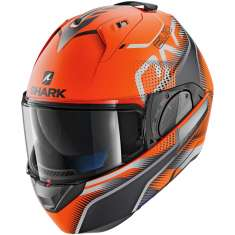 Shark Evo-One 2 Keenser MAT OKA Helmet - Orange Matt Black Anthracite