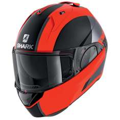 Shark Evo-ES Endless Flip Helmet OKK - Matt Orange Black