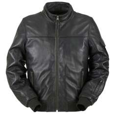 Furygan Freddy Leather Jacket - Black