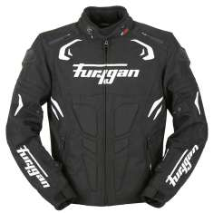 Furygan Blast Jacket WP - Black White